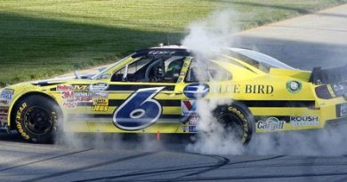 NASCAR Nationwide Series: Ricky Stenhouse Jr. vence em Chicago e assume liderança do campeonato
