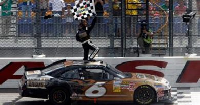 NASCAR Nationwide Series: Ricky Stenhouse Jr vence pela primeira vez