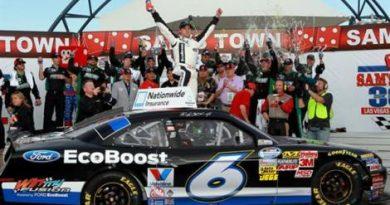 NASCAR Nationwide Series: Ricky Stenhouse Jr. vence em Las Vegas