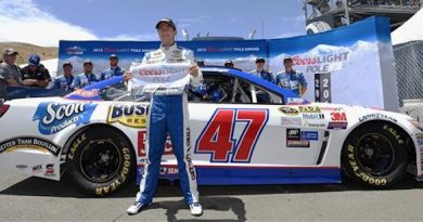 NASCAR Sprint Cup Series: A.J.Allmendinger marca a pole em Sonoma