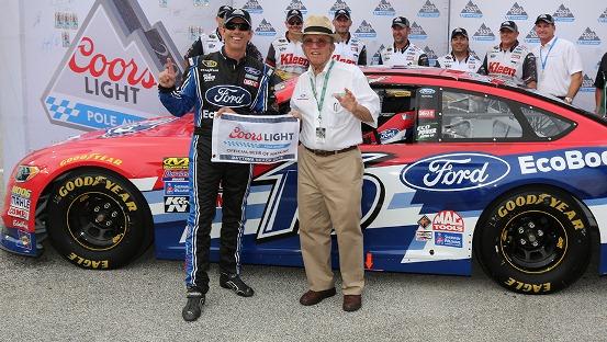 NASCAR Sprint Cup Series: Greg Biffle marca a pole em Daytona