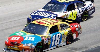 NASCAR Sprint Cup Series: De novo, Kyle Busch vence em Dover