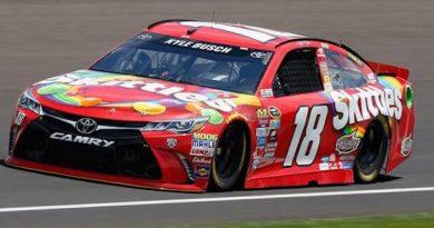 NASCAR Sprint Cup Series: Kyle Busch vence em Indianápolis
