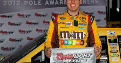 NASCAR Sprint Cup Series: Kyle Busch marca a pole em Phoenix