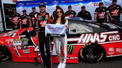 NASCAR Sprint Cup Series: Kurt Busch marca a pole em Pocono