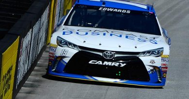 NASCAR Sprint Cup Series: Carl Edwards marca a pole em Bristol