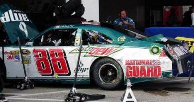 NASCAR Sprint Cup: Acidente tira Dale Earnhardt Jr. da pole das 500 Milhas de Daytona