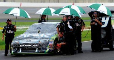 NASCAR Sprint Cup Series: Chuva cancela treino em Kentucky. Kyle Busch sai na pole