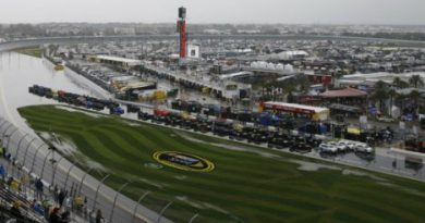 NASCAR Sprint Cup Series: Chuva adia Daytona 500 para segunda-feira