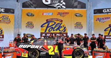 NASCAR Sprint Cup: Jeff Gordon marca a pole em Talladega