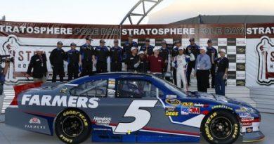 NASCAR Sprint Cup Series: Com novo recorde, Kasey Kahne marca a pole em Las Vegas