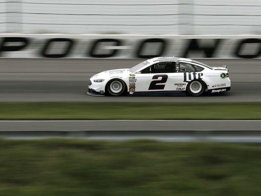 NASCAR Sprint Cup Series: Brad Keselowski marca a pole em Pocono