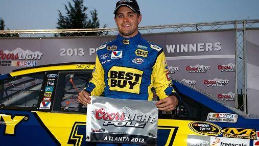 NASCAR Sprint Cup Series: Ricky Stenhouse Jr. marca a primeira pole na NSCS