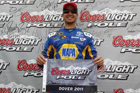 NASCAR Sprint Cup Series: Martin Truex Jr. marca a pole em Dover