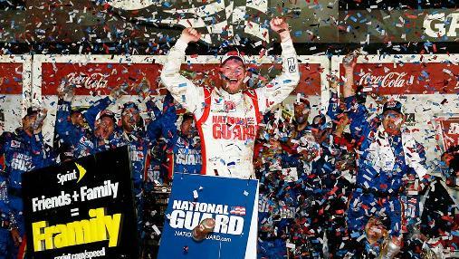 NASCAR Sprint Cup Series: Dale Earnhardt Jr. vence a Daytona 500 pela segunda vez