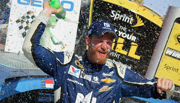 NASCAR Sprint Cup Series: Dale Earnhardt Jr. vence em Talladega