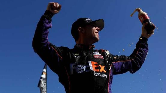 NASCAR Sprint Cup Series: Denny Hamlin vence em Talladega