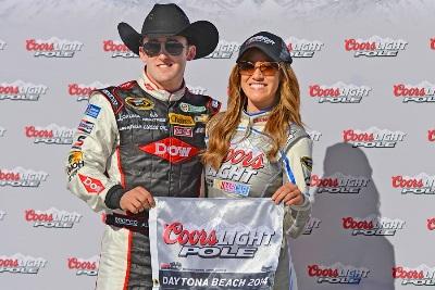 NASCAR Sprint Cup Series: Austin Dillon faz pole histórica em Daytona