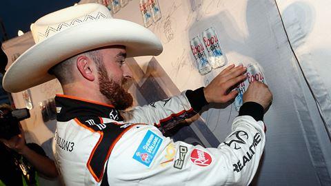 NASCAR Sprint Cup Series: Austin Dillon marca a pole no Texas