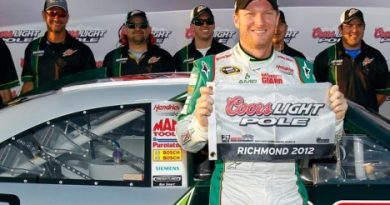NASCAR Sprint Cup Series: Dale Earnhardt Jr marca a pole em Richmond