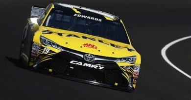 NASCAR Sprint Cup Series: Carl Edwards marca a pole em Indianápolis