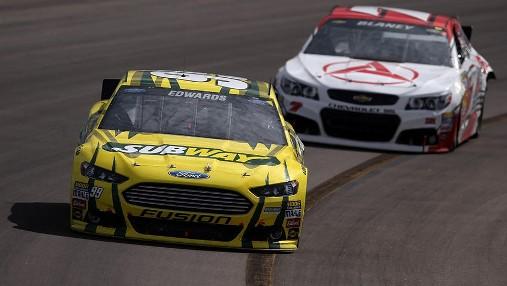 NASCAR Sprint Cup Series: Carl Edwards encerra jejum de 70 provas