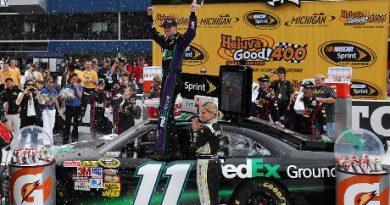 NASCAR Sprint Cup Series: Denny Hamlin vence a segunda consecutiva