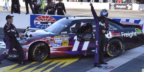 NASCAR Sprint Cup: Denny Hamlin domina em New Hampshire