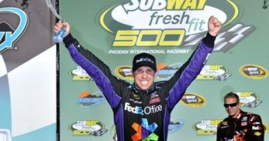 NASCAR Sprint Cup Series: Denny Hamlin vence em Phoenix