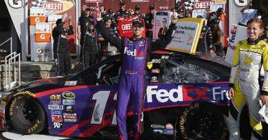 NASCAR Sprint Cup Series: Denny Hamlin vence em Watkins Glen