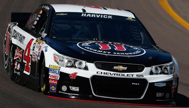 NASCAR Sprint Cup Series: Kevin Harvick marca a pole em Phoenix