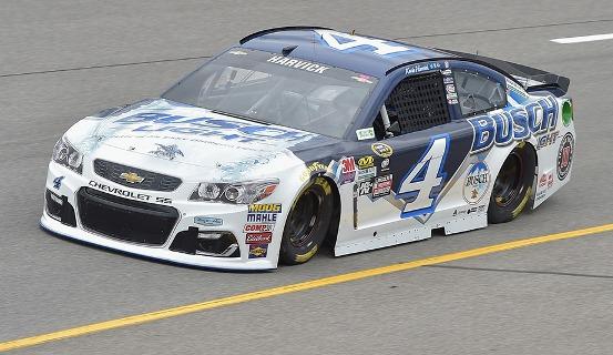 NASCAR Sprint Cup Series: Chuva cancela treino e Kevin Harvick larga na pole em Richmond