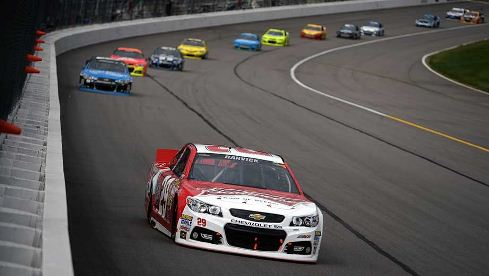NASCAR Sprint Cup Series: Kevin Harvick vence no Kansas