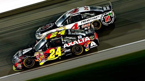 NASCAR Sprint Cup Series: Jeff Gordon vence no Kansas