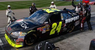NASCAR Sprint Cup Series: Jimmie Johnson vence a segunda consecutiva