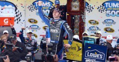 NASCAR Sprint Cup Series: Jimmie Johnson vence em Martinsville e assume liderança do campeonato