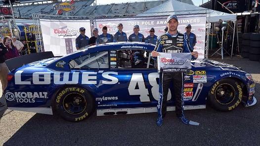 NASCAR Sprint Cup Series: Jimmie Johnson marca a pole em Martinsville