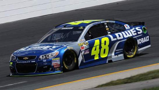 NASCAR Sprint Cup Series: Jimmie Johnson marca a pole em New Hampshire
