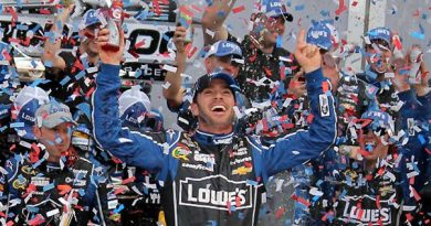 NASCAR Sprint Cup: Jimmie Johnson vence em Daytona