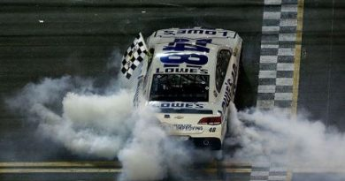 NASCAR Sprint Cup Series: Jimmie Johnson vence em Daytona