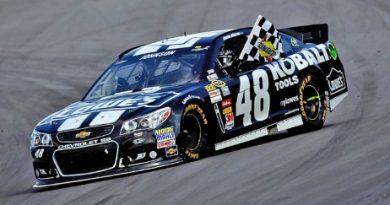 NASCAR Sprint Cup Series: Jimmie Johnson vence em Dover