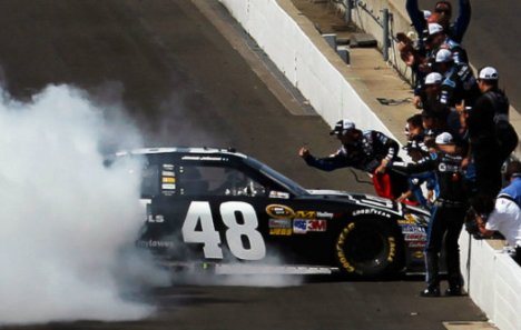 NASCAR Sprint Cup Series: Jimmie Johnson vence em Indianápolis