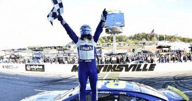 NASCAR Sprint Cup Series: Jimmie Johnson vence em Martinsville