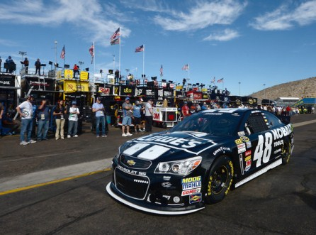 NASCAR Sprint Cup Series: Jimmie Johnson marca a pole em Phoenix