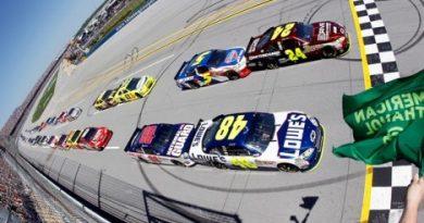NASCAR Sprint Cup Series: Por 0s002 Jimmie Johnson vence em Talladega