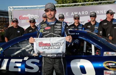 NASCAR Sprint Cup Series: Jimmie Johnson marca a pole no Texas