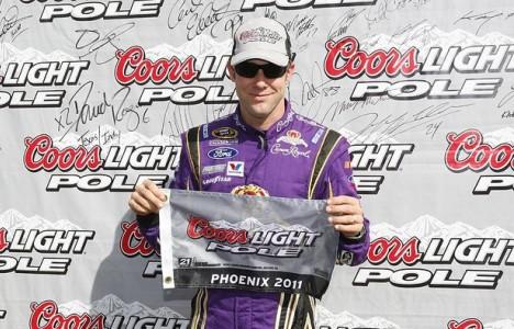 NASCAR Sprint Cup Series: Matt Kenseth marca a pole em Phoenix
