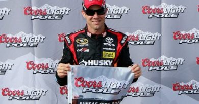 NASCAR Sprint Cup Series: Matt Kenseth marca a pole no Kansas