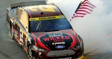 NASCAR Sprint Cup Series: Brad Keselowski vence em Talladega