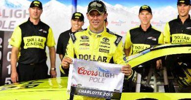 NASCAR Sprint Cup Series: Matt Kenseth marca a pole em Charlotte